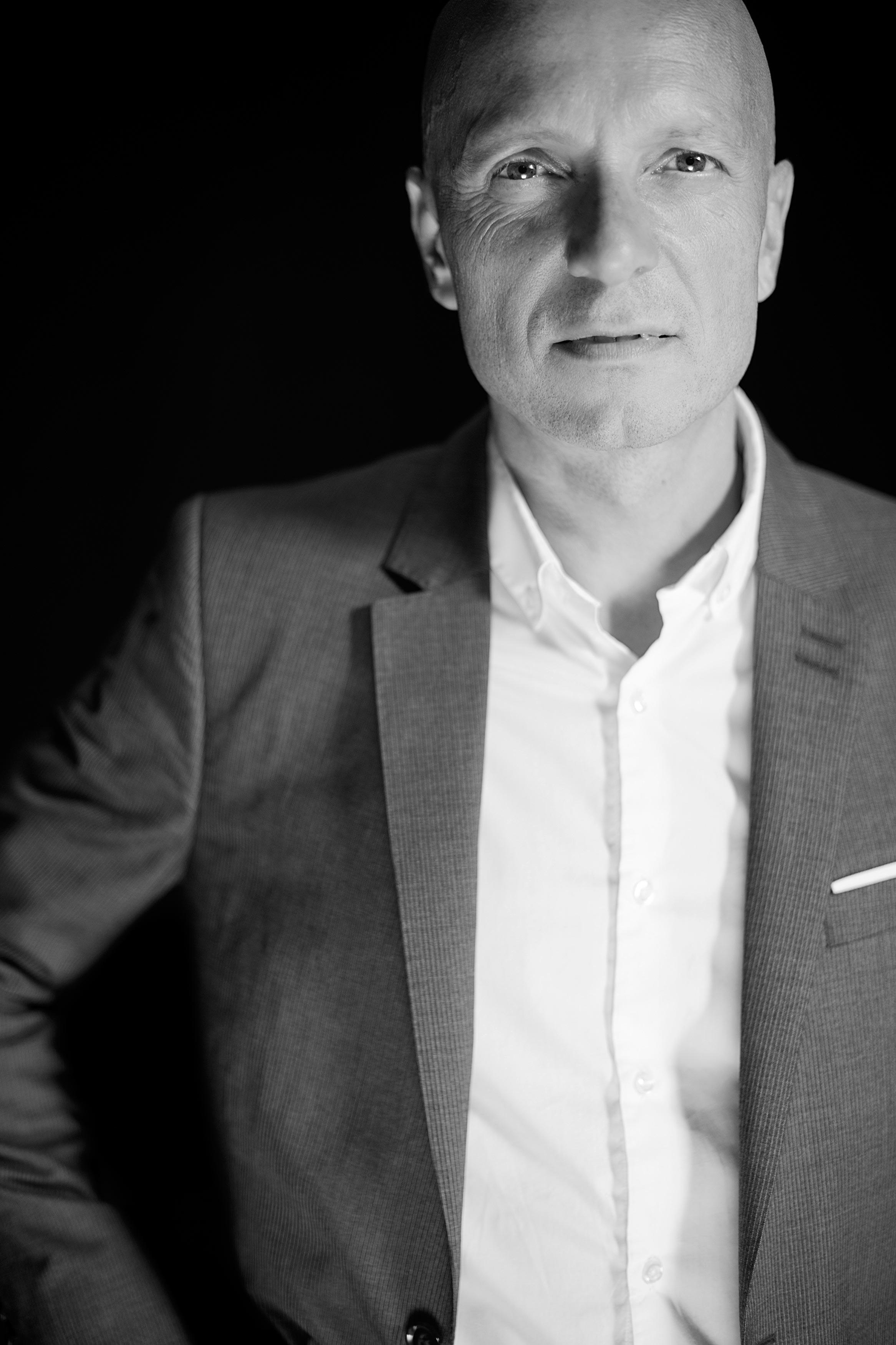 Photographie corporate d'un dirigeant de société