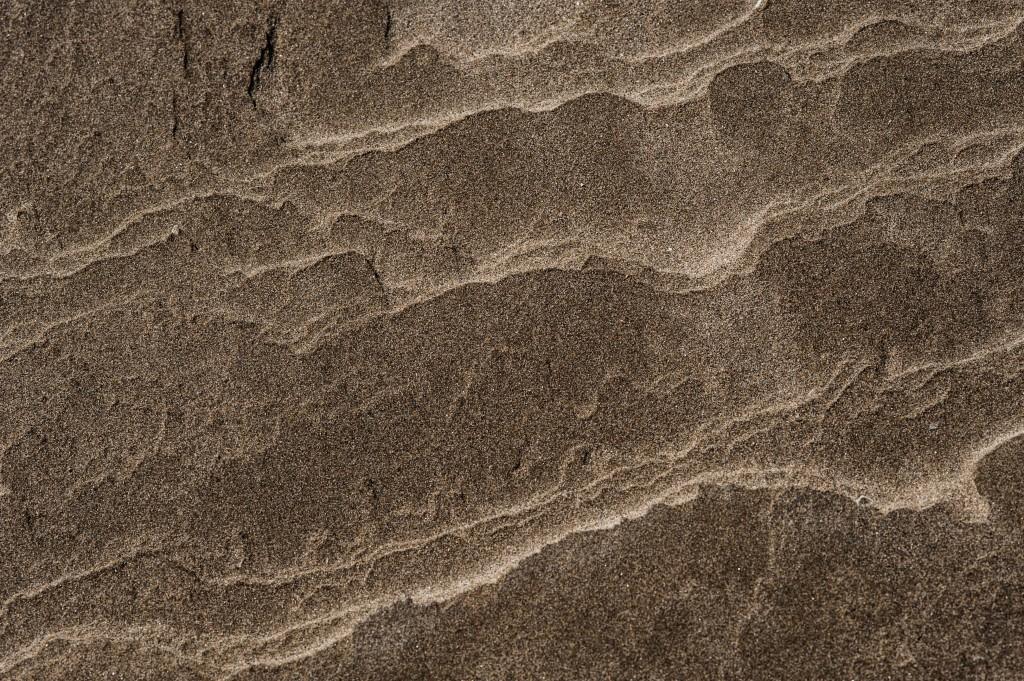 Photographie artistique de sable